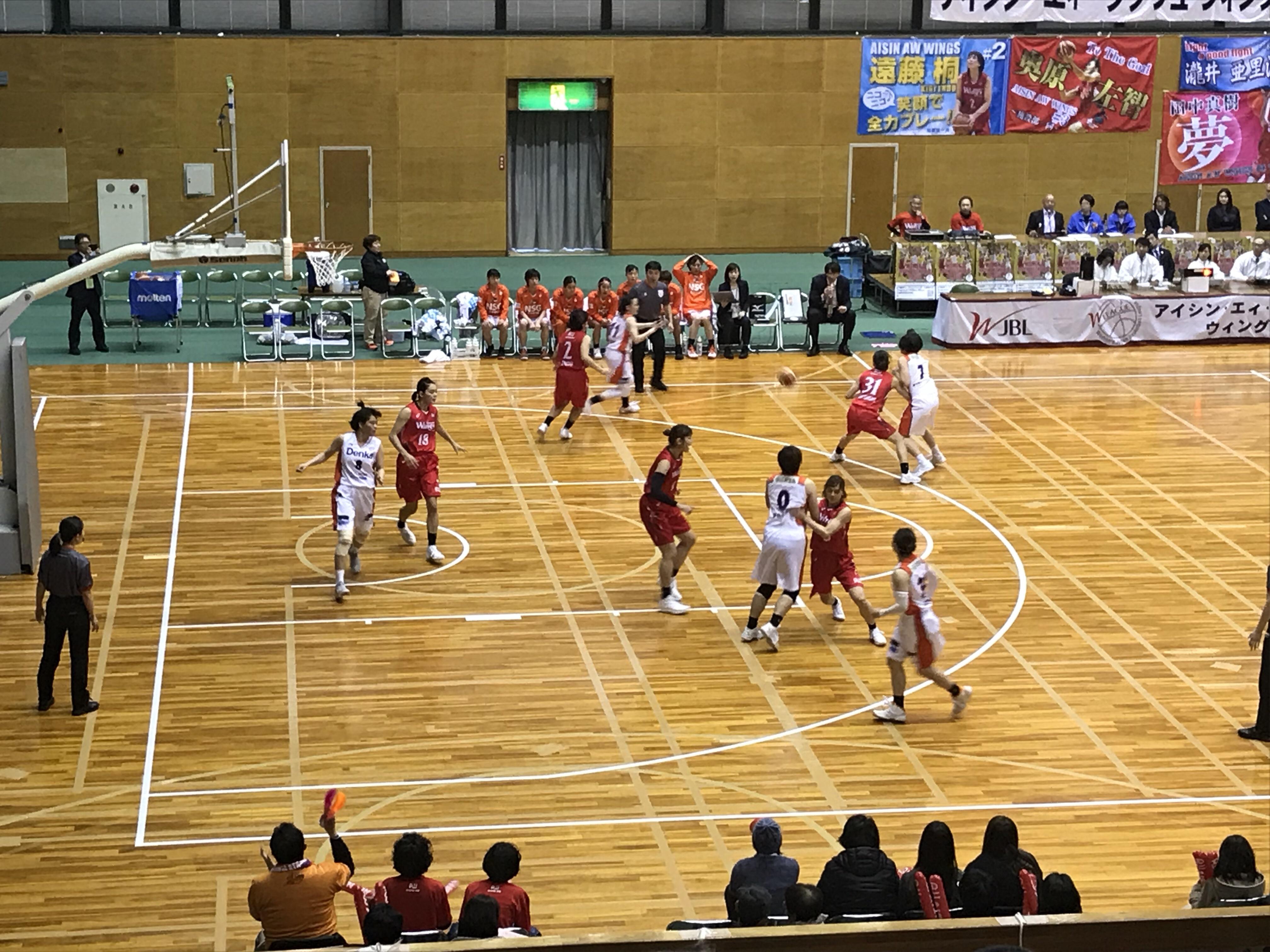 女子バスケットボールのWリーグを初観戦!勝負のカギはディフェンス。