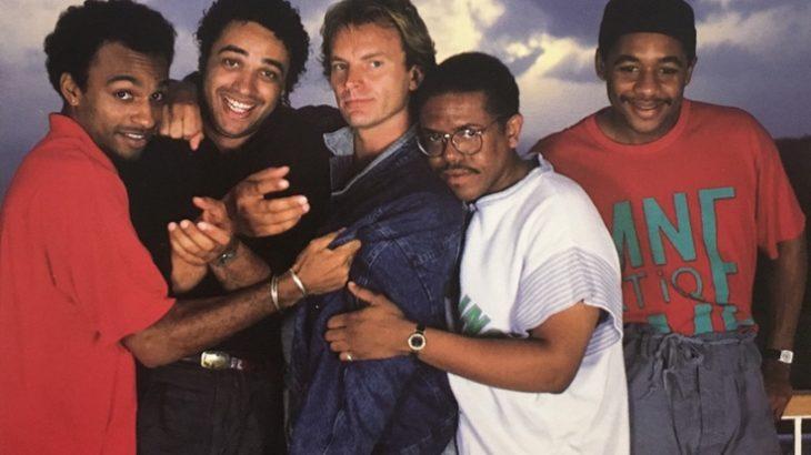 スティング 1987年のアルバム「ナッシング・ライク・ザ・サン」から、スティービー・ワンダーとコラボした「フラジャイル」