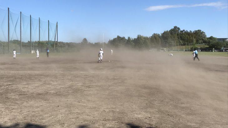 強風での大勝利!次の塁を狙う積極性が出ててナイスゲームでした!【県大会1回戦】