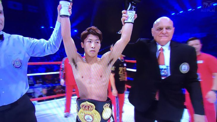 祝!日本最強王者・井上尚弥三階級制覇!!!次はWBSSに出場!