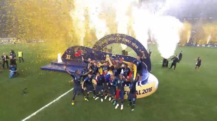 ロシアワールドカップ優勝はフランス代表!エムバペのニアをついたゴールに痺れまくり。