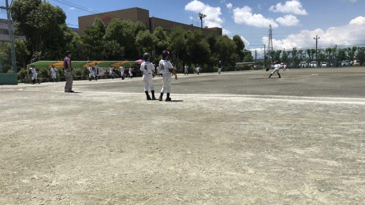 ドミー旗少年野球大会惜しくも二回戦敗退。残念ながらも収穫のあった試合。