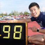 陸上男子100m日本歴代トップ5!日本人で唯一の9秒台は桐生祥秀だけ。