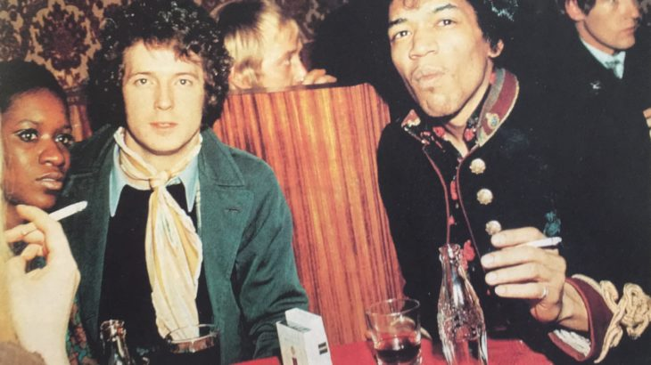 【ロックなメローお勧め】 クラプトンに会いたくてイギリスにやってきたジミ、その演奏は瞬く間にロンドン中を覆い尽くしました