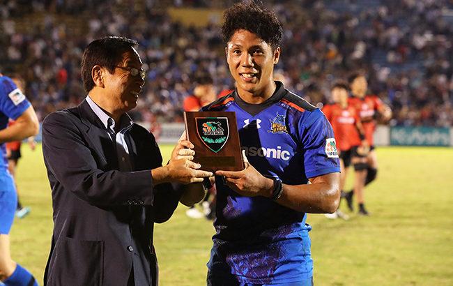 ラグビー W杯日本代表として戦う姿が見たい元サッカー少年のスタンドオフ【山沢拓也】