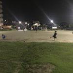 上達への近道『毎日野球道具に触れること』の大切さを感じる自主練習。