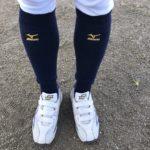 ショートスタイルを好む野球人の冬の必須アイテム【レッグウォーマー】
