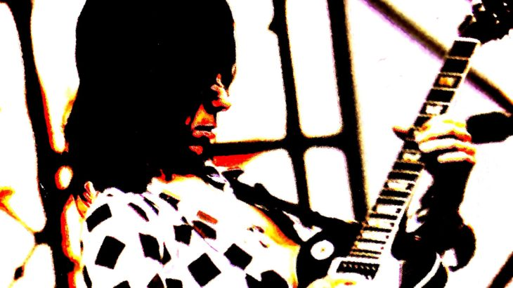 孤高のギタリストっていわれるジェフ 自分の思いに素直なんだなあとすごく感じる 「Brush with the Blues」