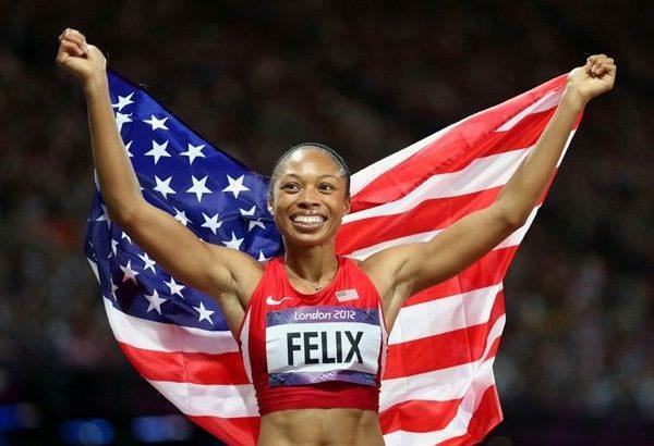 軽やかで伸びのある走りが美しいアリソン・フェリックスはママになって東京五輪を目指す。