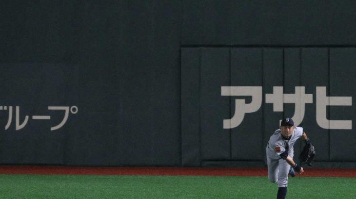 外野手のバックホームでのクロスプレーは最高の見せ場!