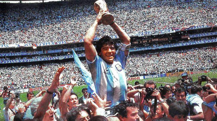 20世紀最高のサッカー選手の一人であったアルゼンチンのスーパースター【ディエゴ・マラドーナ】