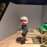 安城市歴史博物館、安城市民ギャラリーで出会ったお人形、『これ、誰かに似ていない?』