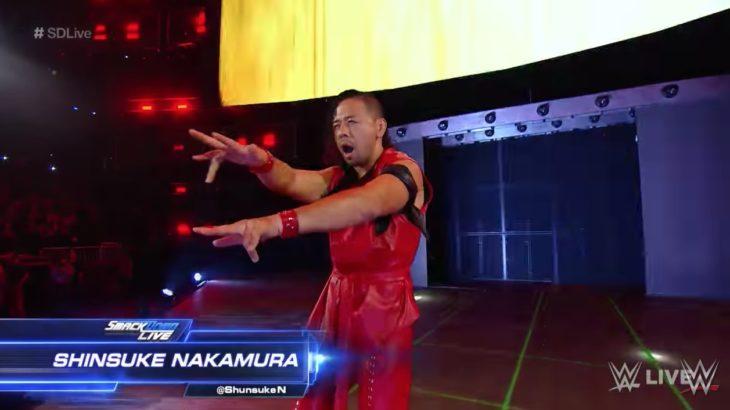 WWEで大活躍する中邑真輔のクネクネする動きが一周回ってカッコよく思えてきてます!
