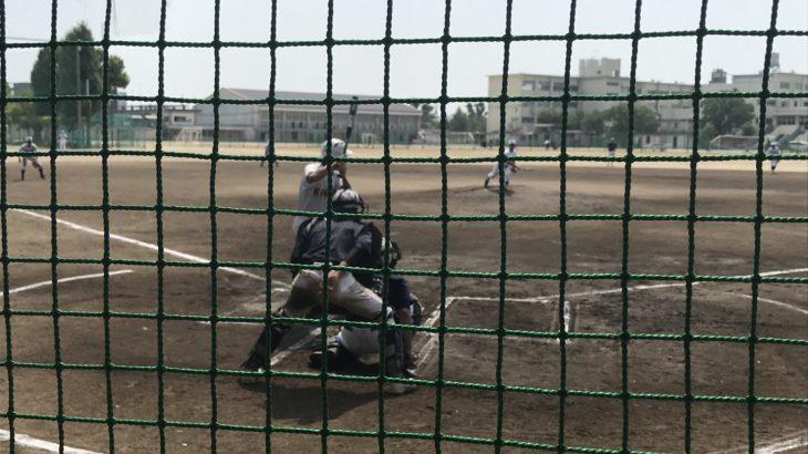 愛知県大会ベスト4の母校・高校3年生チームにボコられたけど、めっちゃ楽しかったOB戦。
