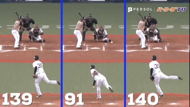 投手にとって大事な『緩急』で130キロを150キロに見せる投球術。