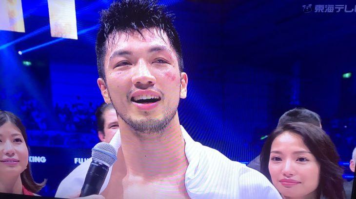 元オリンピック金メダリストの村田諒太が王座奪還!一番気になったのはラウンドガール。