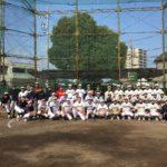 引退直後の高校三年生を送り出す毎年恒例の『野球部OB戦』に参加。