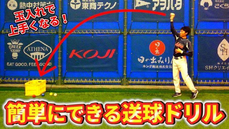 玉入れで野球のコントロールアップ?低学年向け送球ドリルの動画を発見!【野球で大切な深視力】