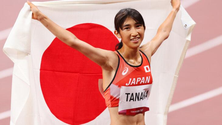 日本陸上中距離のニューヒロイン、1000m・1500m・3000mの日本記録を持つ田中希実の切れ味鋭いラストスパート