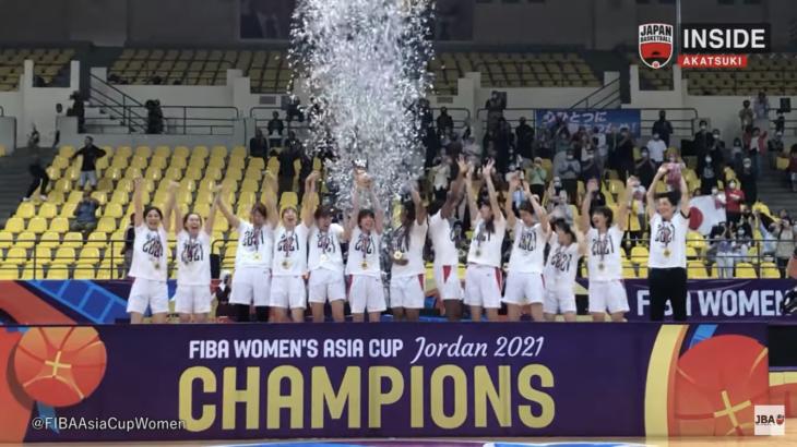 東京オリンピックの勢いそのままに女子バスケ日本代表が史上初アジアカップ五連覇を達成!